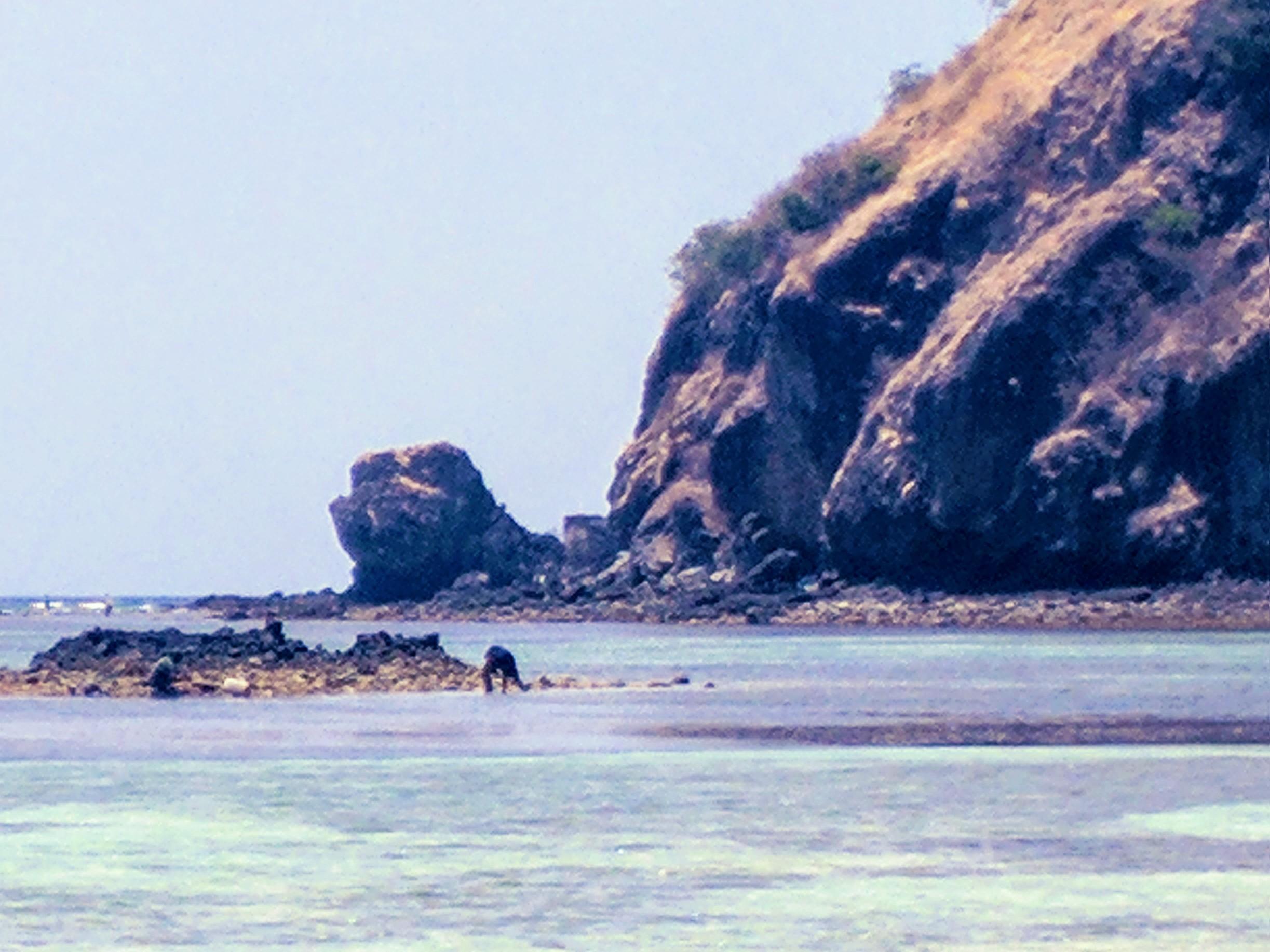 Windward side of the islands