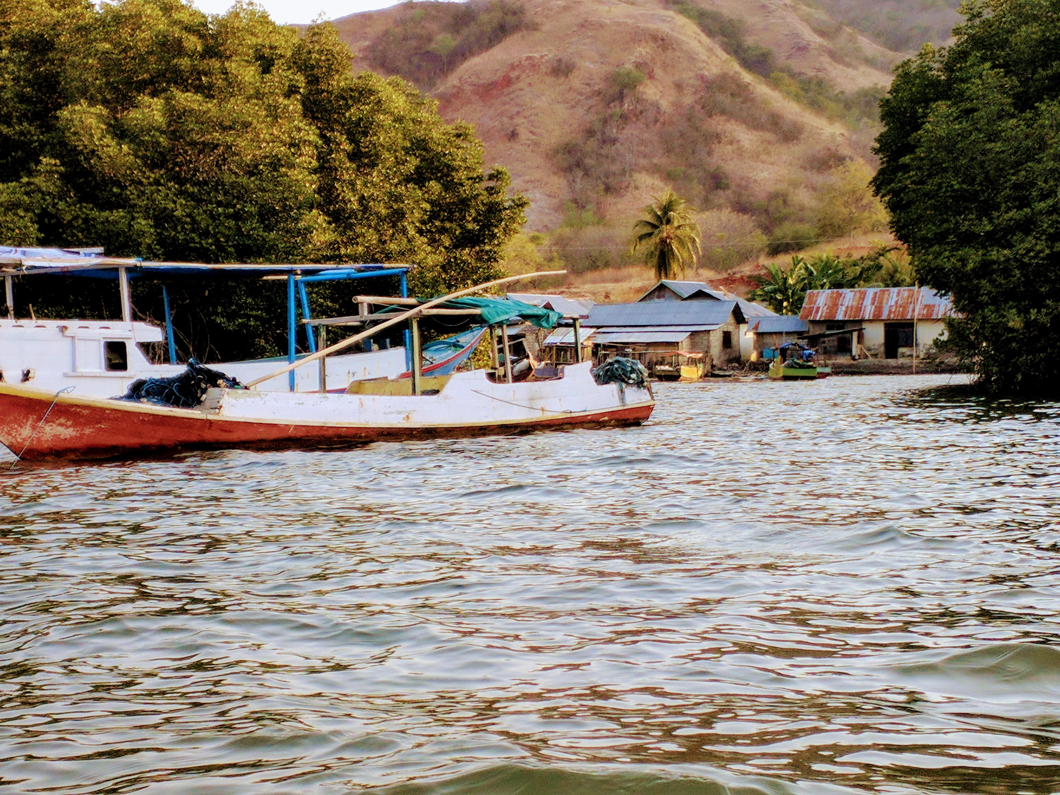 Fishing boats in Riung