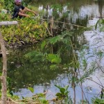 No matter where you go around Indo...jungle, dry inland area or near the ocean...there will be someone fishing