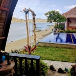 Krisna Bungalows...beautiful local vibe with a water front view