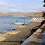 Tourist ferries out to the Southern Gilis